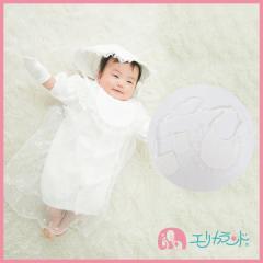日本製 セレモニードレス用スタイ ミトン 2点セット 結婚式 お宮参り 男の子 女の子 出産祝い ギフト ER2797
