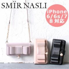 ポイント10倍 サミールナスリ iphoneケース リボン iPhone6/6s/7/8対応 送料無料 SMIR NASLI Ribbon Mobile Case 011232059 スマホケース
