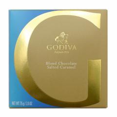 専用袋付き ラッピングしてお届け致します GODIVA/ゴディバ ソルテッドキャラメルタブレット チョコレート チョコレート菓子