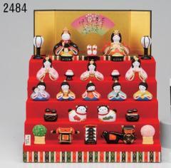 錦彩 華みやび5段飾り雛 ☆ お孫さん、お子さんへのプレゼントに