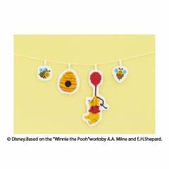 Olympusクロスステッチ刺繍キット 9047 「くまのプーさん」 ガーランド刺繍キット 初〜中級者向け ディズニー