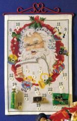 OOE クロスステッチ刺繍キット 76100 クリスマス アドベントカレンダー 【海外取り寄せ/納期40〜80日程度】