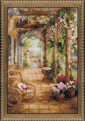 RIOLISクロスステッチ刺繍キット No.100/043 「A Secret Romance」 (シークレット・ロマンス) 【海外取り寄せ/納期30〜60日程度】