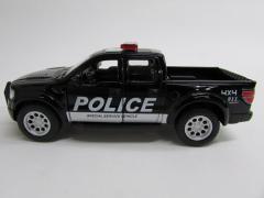 KINSMART Ford F150 Raptor Pickup American Fire Police Car 1/46 ダイキャストミニカー フォード・ラプター ブラック