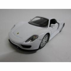 1/32 Porsche 918 spyder ダイキャストミニカー ポルシェ スパイダー ホワイト
