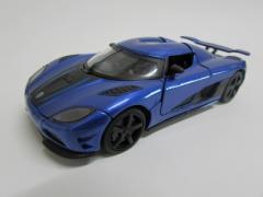 ダイキャストミニカー 1/32 Koenigsegg ケーニグセグ ブルー