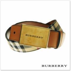 【セール 30%OFF!】BURBERRY バーバリー メンズレザーベルト CHARLES35LB / 39758501 ブラウン