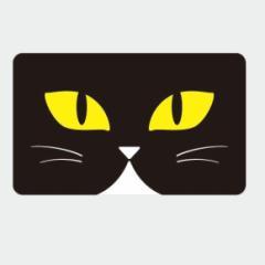 ICカードステッカー Fun ic card sticker IC53 博多にわか面、猫 ねこ ユニーク 保護 シール アオトクリエイティブ