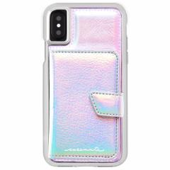 iPhoneX 【Case-Mate/ケースメイト】 「Comapct Mirror Case Iridescent」