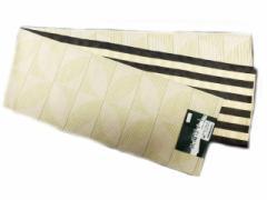 半幅帯 半巾 細帯 浴衣帯 四寸帯 リバーシブル四寸帯 日本製 白地 七宝 柄 no3033