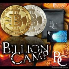 メール便OK♪金と銀2枚の伝説コイン☆至極の金運アイテム【Billion Camp -ビリオンキャンプ-】送料代引き無料3セット♪