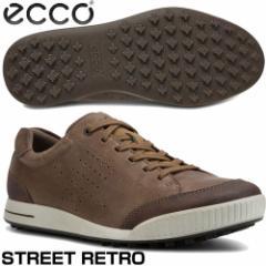 エコー ストリート レトロ メンズ ゴルフシューズ 2017モデル 150604-50411 BIRCH/COFFEE