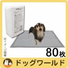シーズイシハラ お徳用薄型ペットシート ワイド 80枚