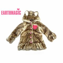 EARTHMAGIC アースマジック 子供服 17秋冬 もこもこバンビコート ea37310232