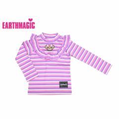 EARTHMAGIC アースマジック 子供服 17秋冬 ボーダー 長袖Tシャツ ea37340257