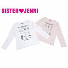 JENNI ジェニィ ジェニー 子供服 18春 ベア天竺長袖Tシャツ je84862