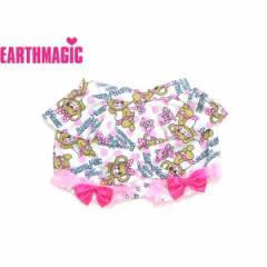 EARTHMAGIC アースマジック 子供服 18夏 ドットマフィー総柄しっぽ付きブルマ ea38251573