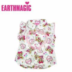 EARTHMAGIC アースマジック 子供服 18春 ロイヤルデシン ロマンチックマフィー柄ノースリーブシャツ  ea38112267