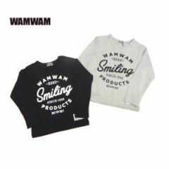 WAMWAM ワムワム 子供服 18春 ソフト天竺長袖Tシャツ wam85235