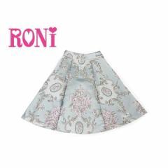 RONI ロニィ ロニー 子供服 18春 ゴブラン織りスカート r1383172006196