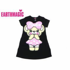 EARTHMAGIC アースマジック 子供服 18春 AラインTシャツワンピース ea38534930