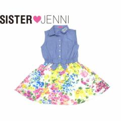 JENNI ジェニィ ジェニー 子供服 18夏 ダンガリードッキングワンピース je87602