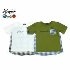 KURANBON クランボン 子供服 18春夏 ギンガムバッグTシャツ ベビー キッズ ku1035101