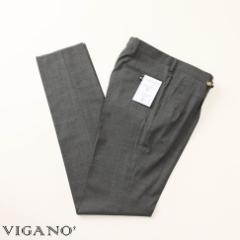 VIGANO ヴィガーノ ウールパンツ グレー vig99-5737-928