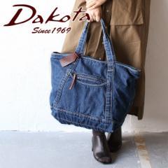 ポイント10倍  ダコタ バッグ トートバッグ ランドリー B4対応 肩掛け Dakota デニム 1531280 エディターズバッグ