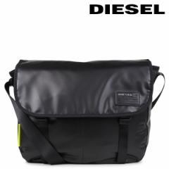 ディーゼル バッグ メンズ レディース DIESEL ショルダーバッグ メッセンジャー X04814 P1157 T8013 ブラック 5/22 追加入荷