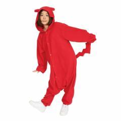 ■送料無料■即納!在庫限り!■ 超特価・カラフルデコチュウ 着ぐるみ 色:赤 サイズ:男女兼用フリーサイズ