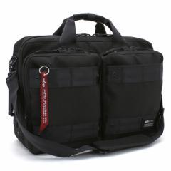 アルファインダストリーズ ALPHA INDUSTRIES 豊岡鞄 日本製 ビジネスバッグ(ショルダー付) 40081
