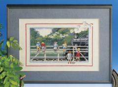 OOE クロスステッチ刺繍キット 44146 / 44147 蒸気機関車 SL 【取り寄せ/納期40〜80日程度】