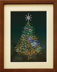 ミユキ ビーズデコールキット 「クリスマスツリー」  BHD-080 ファンタジー MIYUKI