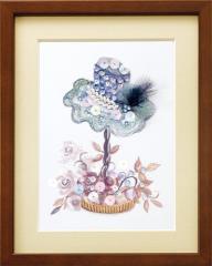 ミユキ ビーズデコールキット 「カトリーヌの恋 (帽子)」  BHD-033 MIYUKI