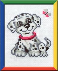 RIOLISクロスステッチ刺繍キット No.150 「The Dalmatian Dog」(ダルメシアン 犬)