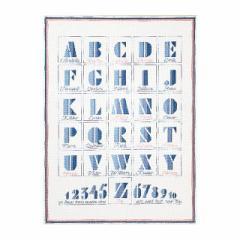 Thea Gouverneur クロスステッチ刺繍キットNo.1089 「ABC」(ABCサンプラー) オランダ テア・グーヴェルヌール 【取り寄せ/納期40〜80日程