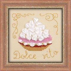 RIOLISクロスステッチ刺繍キット No.1256 「Cake Basket」 (ケーキ・バスケット)