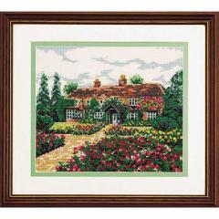 Olympusクロスステッチ刺繍キット 7011 「思い出の家」