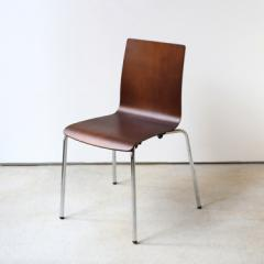 ダイニングチェア 椅子 イス スチール脚 スタッキング可能 チェリー MTS-003