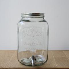 Yorkshire Mason Jar Drink Dispenser ヨークシャーメイソンジャードリンクディスペンサー 2959 クリア 8L ウォータージャグ