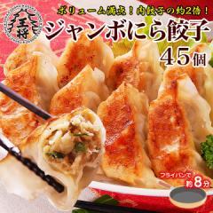 【大阪王将】 ジャンボにら餃子♪45個 【大きいサイズ】【大阪王将】【ぎょうざ】