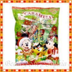 ミッキー&フレンズ 袋入りキャラメル クリスマス・ファンタジー ディズニークリスマス2017 Xmas お菓子 【東京ディズニーランド限定】