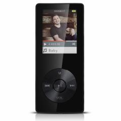 AGPTEK M07 スピーカー搭載 デジタルオーディオプレーヤー HiFiハイレゾ音源 MP3プレーヤー 金属製 内蔵8GB ブラック