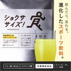 【送料無料】進化したスポーツ飲料「ショクササイズ」エナジー×スポーツ飲料(ノンカフェイン)