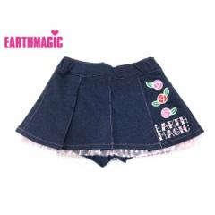 EARTHMAGIC アースマジック 子供服 17秋冬 カットデニム スカート ea37353253