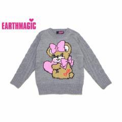 EARTHMAGIC アースマジック 子供服 17秋冬 ロング丈セーター ea37361207