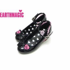 EARTHMAGIC アースマジック 子供服 18春 ハートウェッジパンプス ea38190168