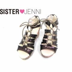 JENNI ジェニィ ジェニー 子供服 18夏 カラフルウエッジサンダル je88524