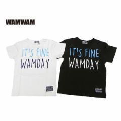 WAMWAM ワムワム 子供服 18春 スラブ天竺半袖Tシャツ wam85256